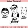 Bad Bunny SVG, El Conejo Malo SVG, PNG, JPG, DXF