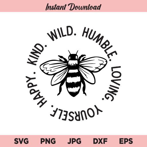 Be Kind SVG, Bee Kind SVG, Kind SVG, Bee SVG