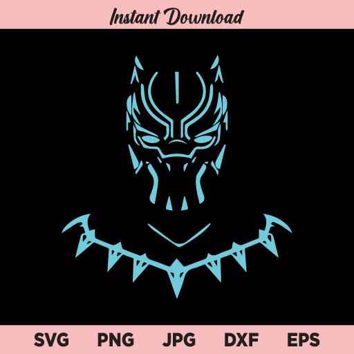 Black Panther SVG, PNG, DXF, Cricut, Cut File, Clipart