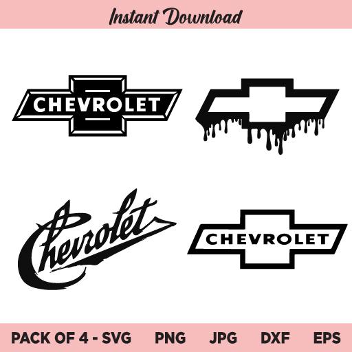 Chevrolet Logo SVG, Chevy Logo SVG, Chevy Vintage Logo SVG, PNG, DXF, Cricut, Cut File, Clipart