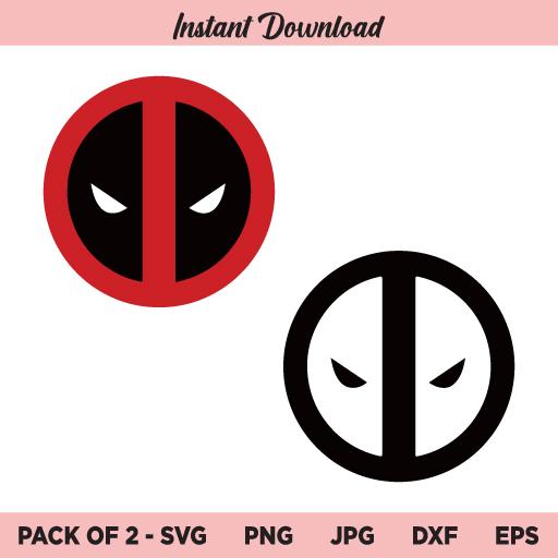 Deadpool SVG, Deadpool Logo SVG, PNG, DXF, Cricut, Cut File, Clipart, Silhouette