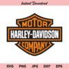 Harley Davidson SVG, Harley Davidson Logo SVG, Harley SVG, PNG, DXF, Cricut, Cut File, Clipart