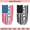 Jeep American Flag SVG, Jeep Flag SVG, Jeep USA Flag SVG, Jeep SVG, US Flag SVG, PNG, DXF, Cricut, Cut File, Clipart