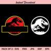 Jurassic Park SVG, Jurassic Park Logo SVG, Jurassic SVG, PNG, DXF, Cricut, Cut File, Clipart