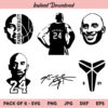 Kobe Bryant SVG, Kobe SVG, Bryant SVG, Lakers SVG, PNG, DXF, Cricut, Cut File, Clipart