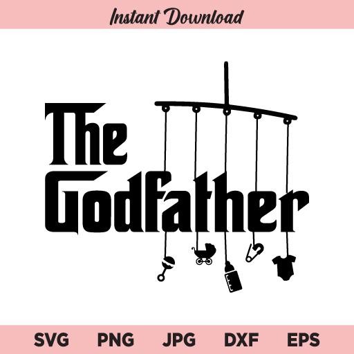 The Godfather SVG, Godfather SVG, PNG, EPS, Cricut