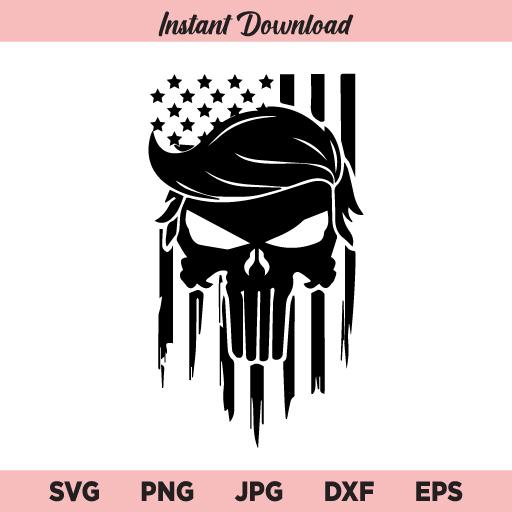 Trumpisher SVG, Trumpisher Flag SVG, PNG, DXF, Cricut, Cut File, Clipart