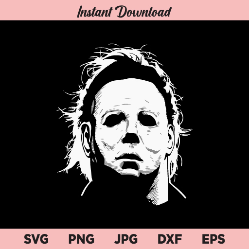 Michael Myers SVG, Horror Movie SVG, Halloween SVG, PNG, DXF, Cricut, Cut File, Clipart, Silhouette