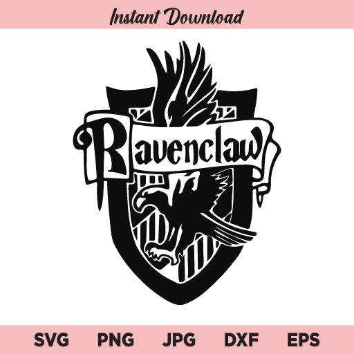 Ravenclaw SVG, Harry Potter SVG, PNG, DXF, Cricut, Cut File, Clipart, Silhouette