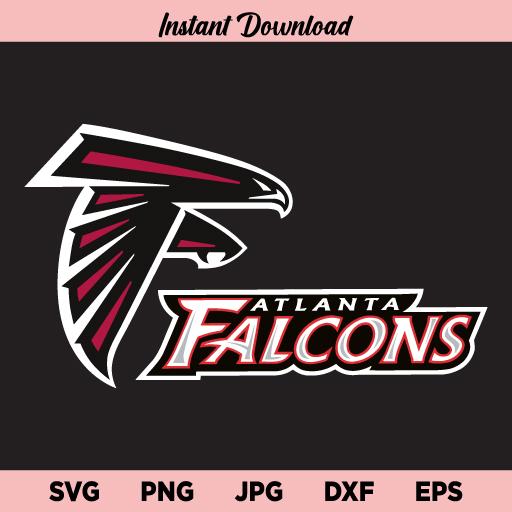 Falcons SVG, Atlanta Falcons SVG, Atlanta Falcons SVG For Cricut, Atlanta Falcons Logo Svg, Atlanta Falcons Cut File, Falcons NFL Logo SVG, PNG, DXF