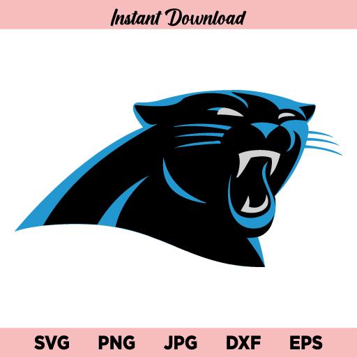 Carolina Panthers SVG, Panthers Logo SVG, Carolina Panthers Logo SVG, PNG, DXF, Cricut, Cut File, Clipart