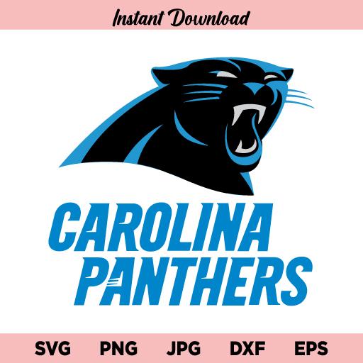 Carolina Panthers SVG, PNG, Panthers SVG, Carolina Panthers SVG For Cricut, Carolina Panthers Logo SVG, Carolina Panthers Cut File, DXF, Instant Download