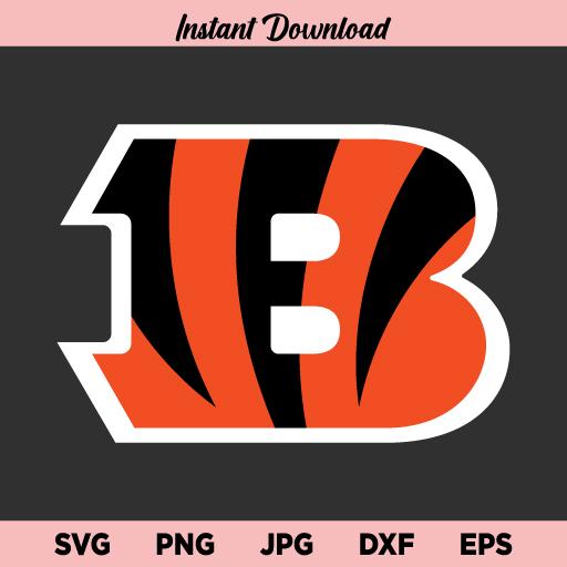 Cincinnati Bengals SVG, Cincinnati Bengals Logo SVG, NFL SVG, NFL Team Logo SVG, PNG, DXF, Cricut, Cut File, Clipart
