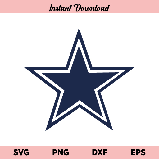 Dallas Cowboys Logo SVG, Dallas Cowboys SVG, NFL SVG, Football SVG, Cowboys SVG, PNG, DXF, Cricut, Cut File, Clipart