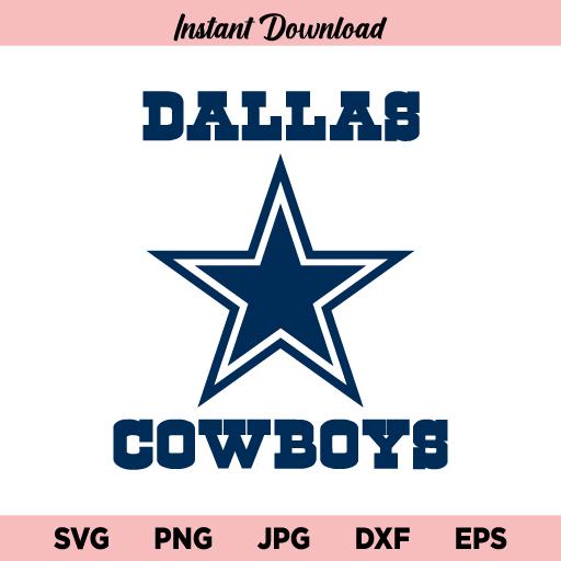Dallas Cowboys SVG, Dallas Cowboys for Cut, Football SVG, PNG, Instant Download