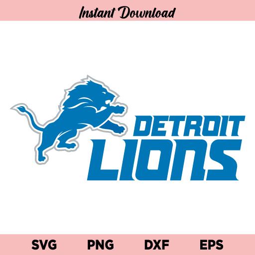 Detroit lions SVG, PNG, DXF, Cricut, Cut File, Clipart, Instant Download