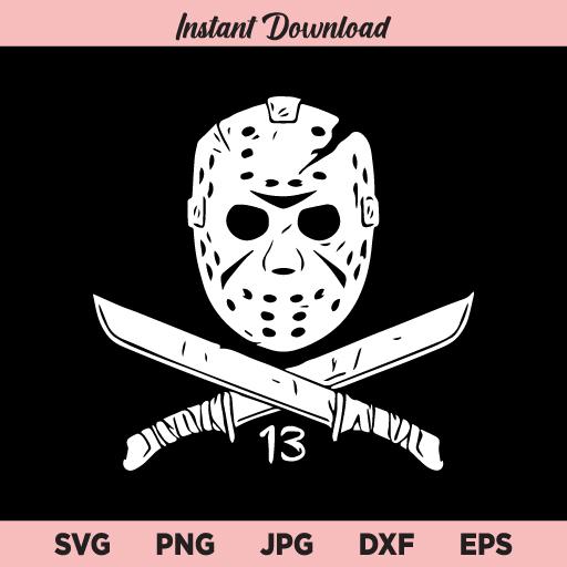 Jason SVG, Jason Voorhees svg, Horror Movies SVG, Horror SVG, Jason Mask SVG, Friday The 13th, Halloween Killer SVG
