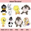 Baby Looney Tunes SVG, Baby Looney Tunes SVG Bundle, Baby Looney Tunes SVG File, Looney Tunes SVG, Baby Looney Tunes, SVG, PNG, Cricut, Cut File
