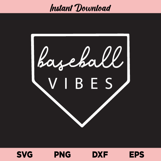 Baseball Vibes SVG, Baseball Vibes SVG File, Baseball SVG, Vibes SVG, Baseball Shirt, Baseball Mom SVG, Baseball Mom Shirt, Baseball Vibes, SVG, PNG, DXF, Cricut, Cut File