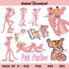 Pink Panther SVG Bundle, Pink Panther SVG, Pink Panther SVG File, Pink Panther SVG Design, Pink Panther Digital Download, Pink Panther, SVG, PNG, Cricut, Cut File