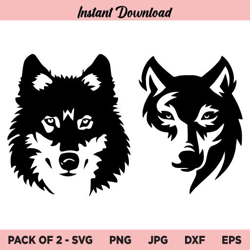 Wolf SVG, Wolf SVG File, Wolf SVG Design, Wolf Bundle SVG, Wolves SVG, Wolf Head SVG, Wolf Face SVG, Wolf, SVG, PNG, DXF, Cricut, Cut File, Instant Download