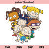 Rugrats SVG, Rugrats PNG, Rugrats Tommy SVG, Chuckie Finster SVG, Rugrats, SVG, PNG, DXF, Cricut, Cut File