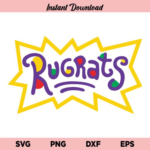 Rugrats Logo SVG, Rugrats Logo SVG File, Rugrats Logo SVG Cut File, Rugrats SVG, Rugrats Logo PNG, Rugrats, SVG, PNG, DXF, Cricut, Cut File, Clipart