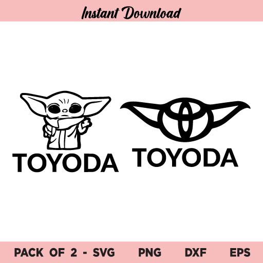 Toyoda Baby Alien SVG, Toyoda Baby Alien SVG Files, Toyoda SVG, Toyoda Baby Alien, SVG, PNG, DXF, Cricut, Cut File