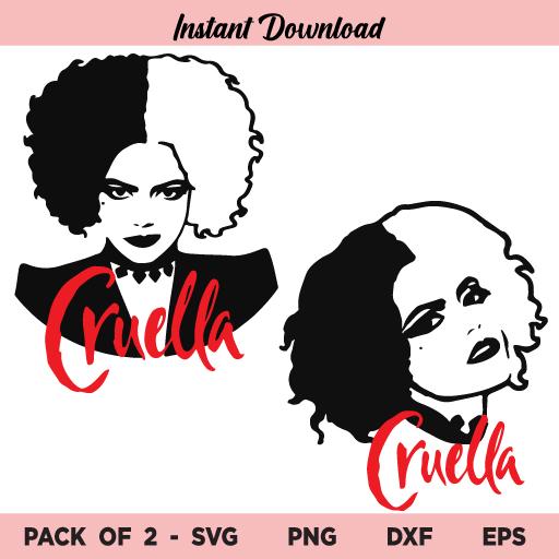 Cruella Disney SVG, Cruella SVG, Cruella SVG Disney File, Cruella SVG Cut File, Cruella SVG Design File, Cruella SVG Bundle, Cruella De Vil SVG, Cruella, SVG, PNG, DXF, Cricut, Cut File, Clipart, Silhouette
