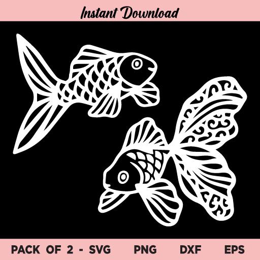 Goldfish SVG, Gold Fish SVG Bundle, Goldfish SVG, Fish SVG, Goldfish, Gold Fish, SVG, PNG, DXF, Cricut, Cut File