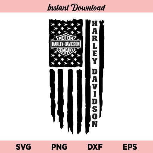 Harley Davidson US Flag SVG, Harley Davidson Flag SVG, Harley Davidson American Flag SVG, Harley Davidson SVG, US Flag SVG, Flag SVG, Harley Davidson US Flag SVG Cut File, SVG, PNG, DXF, Cricut, Cut File, Clipart