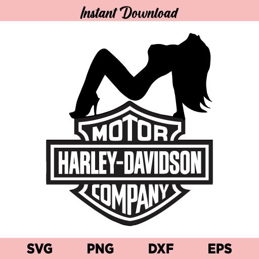 Harley Girl SVG, Harley Davidson Girl SVG, Harley Davidson SVG, Girl SVG, Harley SVG, Harley Davidson Logo SVG, Harley Davidson Girl, SVG, PNG, DXF, Cricut, Cut File