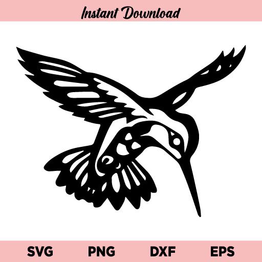 Hummingbird SVG, Hummingbird PNG, Humming Bird SVG, Bird SVG, Hummingbird, SVG, PNG, DXF, Cricut, Cut File