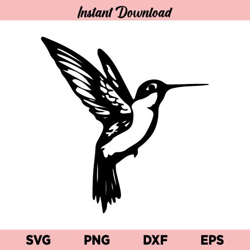 Hummingbird SVG, Hummingbird SVG File, Humming Bird SVG, Hummingbird PNG, Bird SVG, Hummingbird, SVG, PNG, DXF, Cricut, Cut File