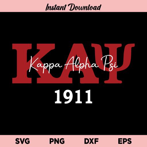 Kappa Alpha Psi SVG, Kappa Alpha Psi 1911 SVG, KA Psi SVG, KA Psi Shirt SVG, Kappa Alpha Psi SVG File, Kappa Alpha Psi, SVG, PNG, DXF, Cricut, Cut File