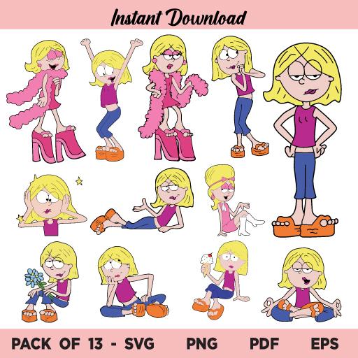 Lizzie Mcguire SVG, Lizzie Mcguire SVG Bundle, Lizzie Mcguire SVG Cut File, Lizzie Mcguire SVG Designs, Lizzie Mcguire, SVG, PNG, Cricut, Cut File