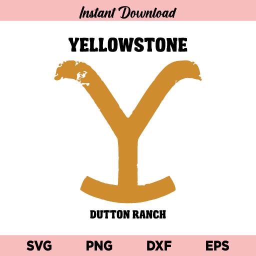 Yellowstone Dutton Ranch SVG, Yellowstone Dutton Ranch SVG Cut File, Yellowstone Icon SVG, Yellowstone SVG, Dutton Ranch SVG, Yellowstone, Yellowstone Dutton Ranch, SVG, PNG, DXF, Cricut, Cut File