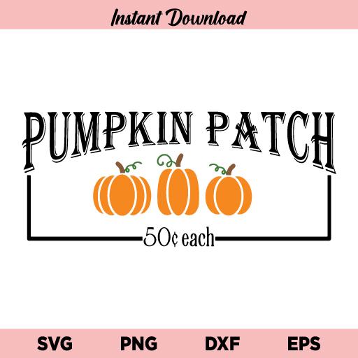 Pumpkin Patch SVG, Pumpkin Patch SVG File, Fall SVG, Halloween SVG, Autumn SVG, Pumpkin SVG, Pumpkin Patch, SVG, PNG, DXF, Cricut, Cut File