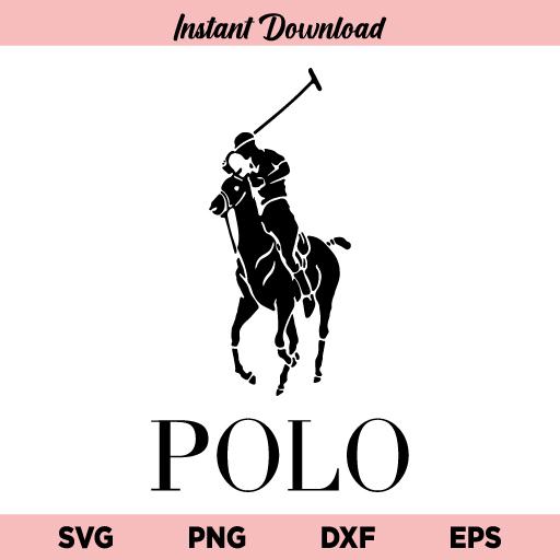 Polo Logo SVG, Polo SVG, Polo Ralph Lauren Logo SVG, Ralph Lauren SVG, Black Polo Logo SVG, PNG, DXF, Cricut, Cut File