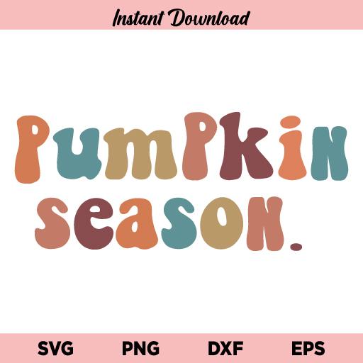 Pumpkin Season SVG, Pumpkin Season Fall Halloween SVG, Fall SVG, Halloween SVG, Halloween Quotes SVG, Fall Shirts SVG, Pumpkin SVG, Pumpkin Season, SVG, PNG, DXF, Cricut, Cut File