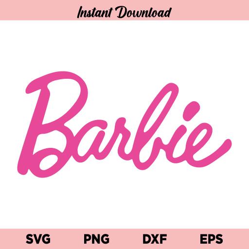Barbie Pink Logo SVG, Barbie Princess Logo SVG, Barbie Logo SVG, Barbie Pink Logo, Barbie Princess Pink Logo SVG File