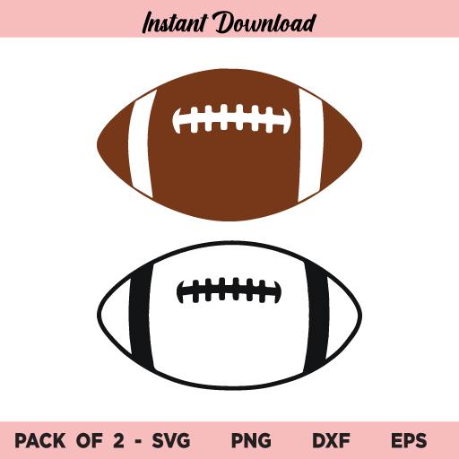 Football SVG Bundle, Football SVG, Football Laces SVG, American Football SVG, Football Outline SVG, Football, SVG, PNG, DXF, Cricut, Cut File