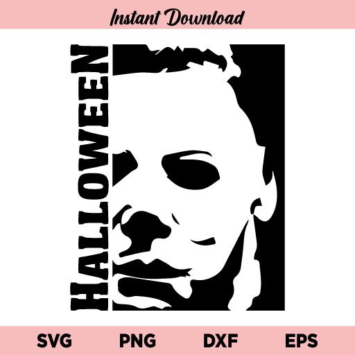 Michael Myers Halloween SVG, Michael Myers SVG, Horror Movie Slasher Halloween SVG, Halloween SVG, Michael Myers Halloween, SVG, PNG, DXF, Cricut, Cut File