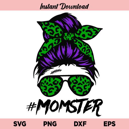 Momster Skull SVG, Momster Skull SVG File, Mom of Monsters SVG, Halloween Momster SVG, Momster SVG, Mom Monster SVG, Momster Skull