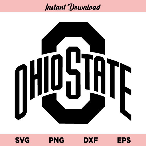 Ohio State Football Logo SVG, Ohio State Logo SVG, Ohio State SVG, Buckeyes SVG, Football SVG, Ohio State Buckeyes, SVG, PNG, DXF, Cricut, Cut File