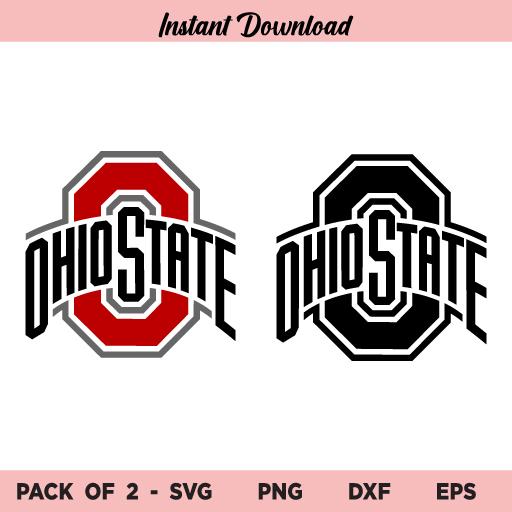 Ohio State Buckeyes Football Logo SVG, Ohio State SVG, Ohio State Buckeyes SVG Bundle, Ohio State University SVG, Football SVG, Ohio State Buckeyes, SVG, PNG, DXF, Cricut, Cut File