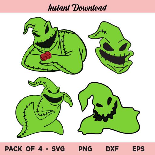 Oogie Boogie SVG, Oogie Boogie Bundle SVG Files, Oogie Boogie Nightmare SVG, Nightmare Before Christmas SVG, Oogie Boogie, Halloween, SVG, PNG, DXF, Cricut, Cut File