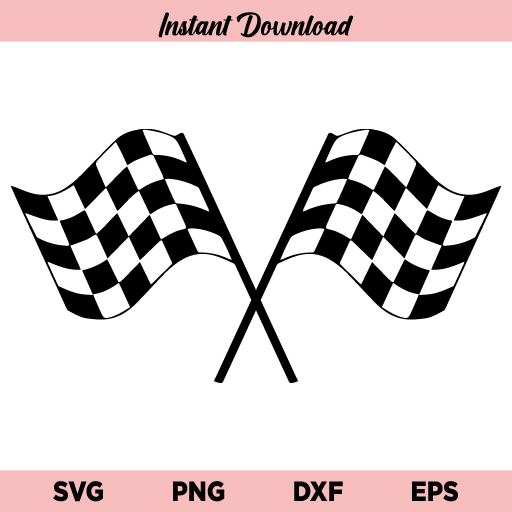 Racing Flags SVG, Checkered Flag SVG, Race Flag SVG, Racing SVG, Start Flags SVG, Finish Flags SVG, Car Flag SVG, Checker SVG, Racing Flags
