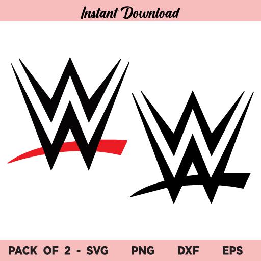 WWE Logo SVG Bundle, WWE Logo SVG, WWE SVG, WWE Logo, WWE