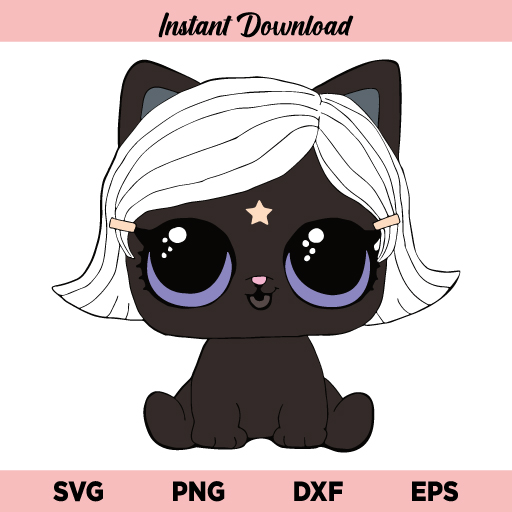 Witchay Kittay SVG, Lil Witchay Kittay SVG, Lol Doll SVG, LOL Surprise Doll SVG, Witchay Kittay